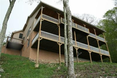 Buncombe County, Haywood County, Henderson County, Madison County Single Family Home For Sale: 755 McKinney Gap Road #373-4