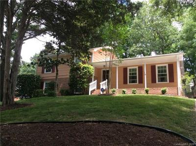 Charlotte Single Family Home For Sale: 6327 Thermal Road