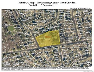 Charlotte Residential Lots & Land For Sale: 955 Sardis Road N