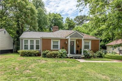 Charlotte Single Family Home For Sale: 1216 Leigh Avenue