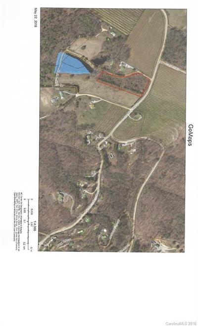 Hendersonville Residential Lots & Land Under Contract-Show: Deep Gap Road