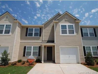 Union County Condo/Townhouse For Sale: 4614 Tradd Circle