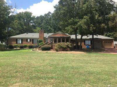 Indian Trail Single Family Home For Sale: 1609 Wesley Chapel Road
