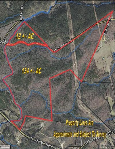 Residential Lots & Land For Sale: 134 AC Possum Trot Road