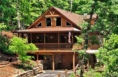 Lake Lure Single Family Home Under Contract-Show: 125 Falcon Way