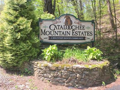 Waynesville Residential Lots & Land For Sale: Curry Comb Trail #512