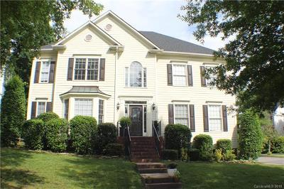 Huntersville Single Family Home For Sale: 16028 Hallaton Drive #L9