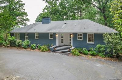 Asheville NC Single Family Home Under Contract-Show: $1,200,000