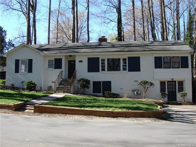Charlotte Single Family Home For Sale: 4314 Castleton Road