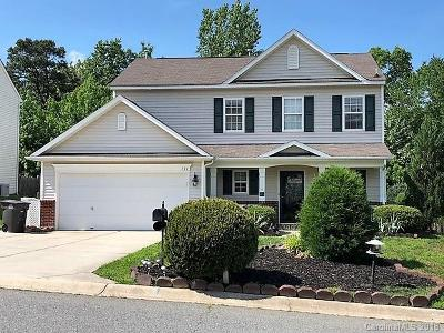 Mooresville NC Single Family Home Under Contract-Show: $225,000