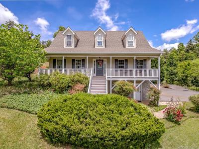 Weaverville Single Family Home Under Contract-Show: 43 Double Brook Drive