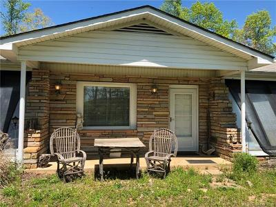 Lake Lure, Mill Spring Single Family Home For Sale: 1364 Freemantown Road