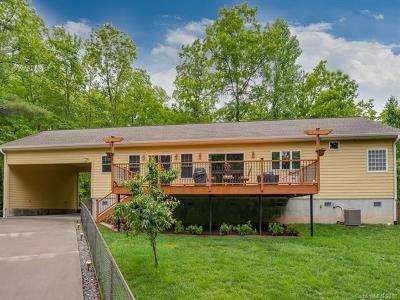 Brevard Single Family Home For Sale: 76 Juniper Lane