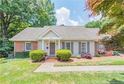 Charlotte Single Family Home For Sale: 401 Roselawn Place