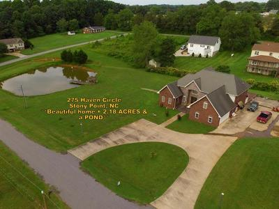 Ashe County, Avery County, Burke County, Alexander County, Caldwell County, Watauga County Single Family Home For Sale: 275 Haven Circle