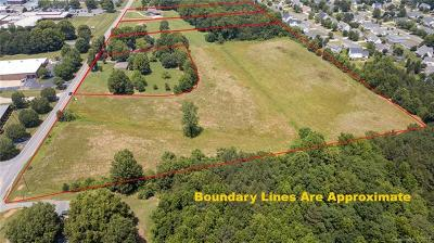 Residential Lots & Land For Sale: 1502 1504 Rocky River Road