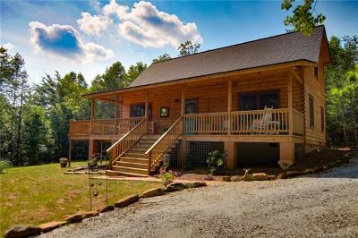 Bat Cave, Black Mountain, Chimney Rock, Lake Lure, Rutherfordton, Union Mills, Mill Spring, Columbus, Tryon, Saluda Single Family Home For Sale: 91 Zachary Lane #40