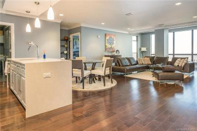 Charlotte Condo/Townhouse For Sale: 222 S Caldwell Street #1912