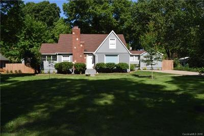 Charlotte Single Family Home For Sale: 2942 Temple Lane
