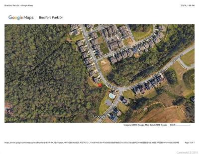 Davidson Residential Lots & Land For Sale: 11820 Bradford Park Drive #38