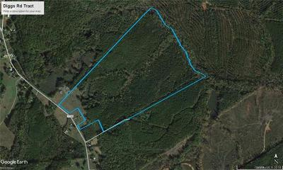 Anson County Residential Lots & Land For Sale: Diggs Road