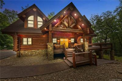 Lake Lure Single Family Home For Sale: 206 Big Rock Lane #Combined
