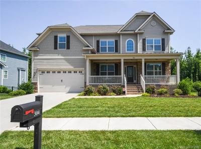 Waxhaw Single Family Home For Sale: 304 Golden View Drive