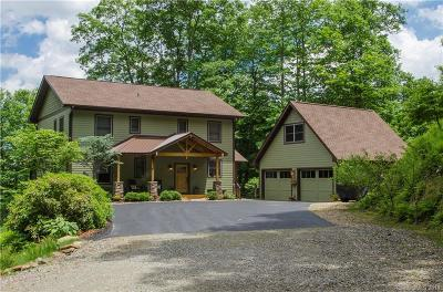 Waynesville Single Family Home For Sale: 495 Ginseng Hollow Lane