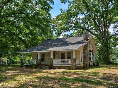 Mint Hill Single Family Home For Sale: 4625 Wilgrove Mint Hill Road