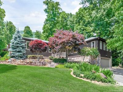 Waynesville Single Family Home Under Contract-Show: 450 Brannon Forest Drive