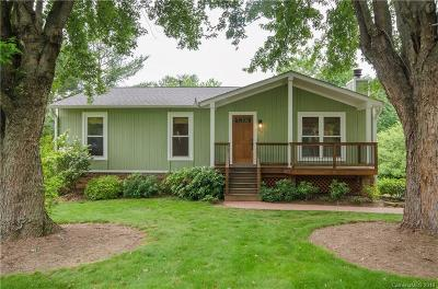 Asheville Single Family Home Under Contract-Show: 34 Knoll Ridge Drive