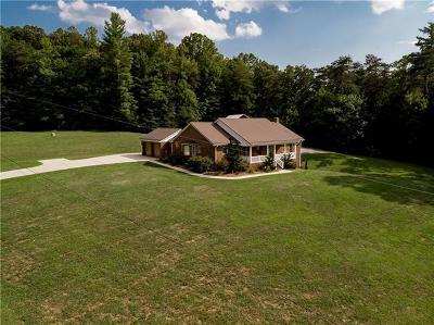 Hickory Single Family Home For Sale: 5425 Harris Farm Road