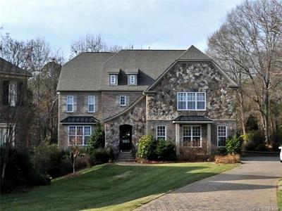 Charlotte Single Family Home For Sale: 5144 Berkeley Park Court