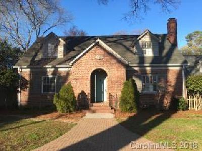 Charlotte Single Family Home For Sale: 2853 Sharon Road