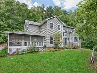 Weaverville Single Family Home For Sale: 12 Oxbow Crossing