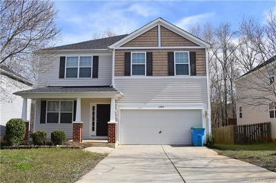 Cabarrus County, Iredell County, Mecklenburg County, Rowan County, Stanly County Single Family Home For Sale: 1380 Bottlebrush Lane