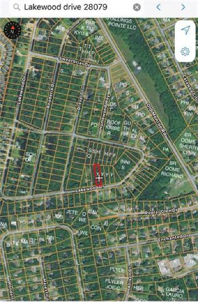 Indian Trail Residential Lots & Land For Sale: Lots 11 & 12 Lakewood Drive