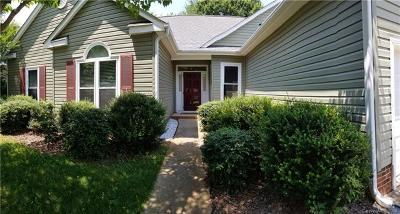 Mooresville NC Single Family Home For Sale: $315,000