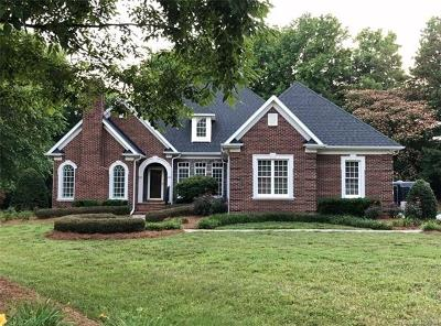 Weddington Single Family Home For Sale: 1708 Cox Road