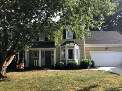 Charlotte Single Family Home For Sale: 2802 S Winghaven Lane S