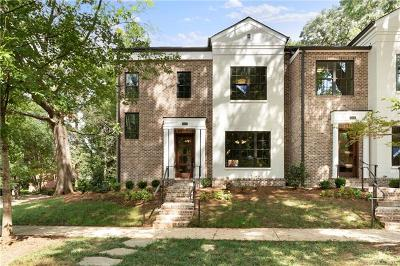 Southpark, Myers Park Condo/Townhouse For Sale: 2023 Lynnwood Drive