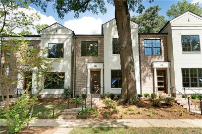 Southpark, Myers Park Condo/Townhouse For Sale: 2027 Lynnwood Drive