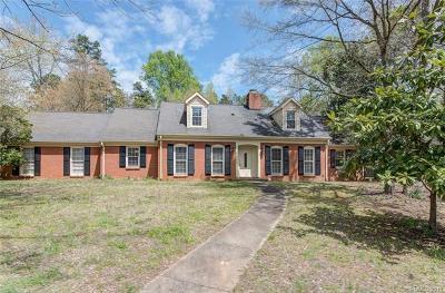 Charlotte Single Family Home For Sale: 8909 Sardis Road
