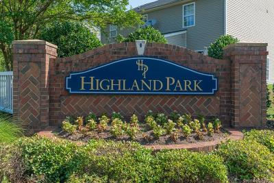 Charlotte Single Family Home For Sale: 2719 Highland Park Drive #57