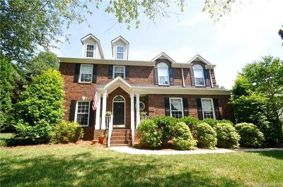 Mooresville Single Family Home For Sale: 119 Castleton Drive #7