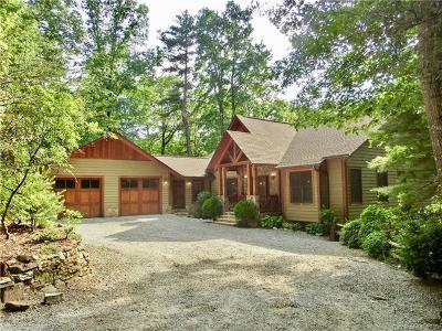 Transylvania County Single Family Home For Sale: 2806 Upper Whitewater Road