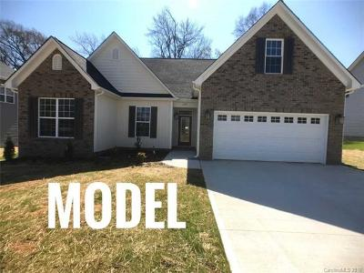 Kannapolis Single Family Home For Sale: 1427 Independence Square #64