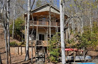 Bat Cave, Chimney Rock, Black Mountain, Lake Lure, Rutherfordton, Columbus, Mill Spring, Tryon, Saluda Single Family Home For Sale: 320 West Lake Drive N
