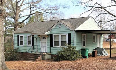 Stanly County Single Family Home Under Contract-Show: 1018 Long Street