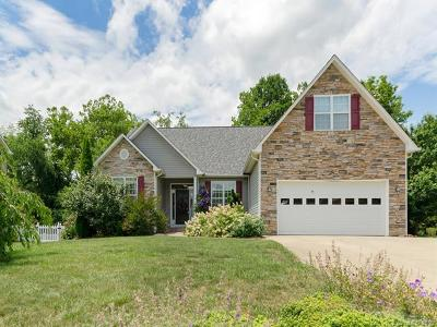 Fletcher Single Family Home Under Contract-Show: 256 Walnut Crest Road